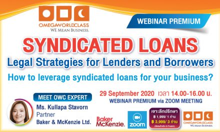 SYNDICATED LOANS | 29 SEPTEMBER 2020, 14.00 – 16.00